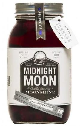 Midnight Moon Junior Johnson's Blackberry Moonshine